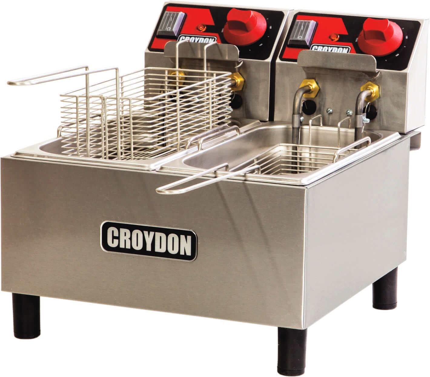 Fritadeira Elétrica 2x 3 Litros FC2A Croydon