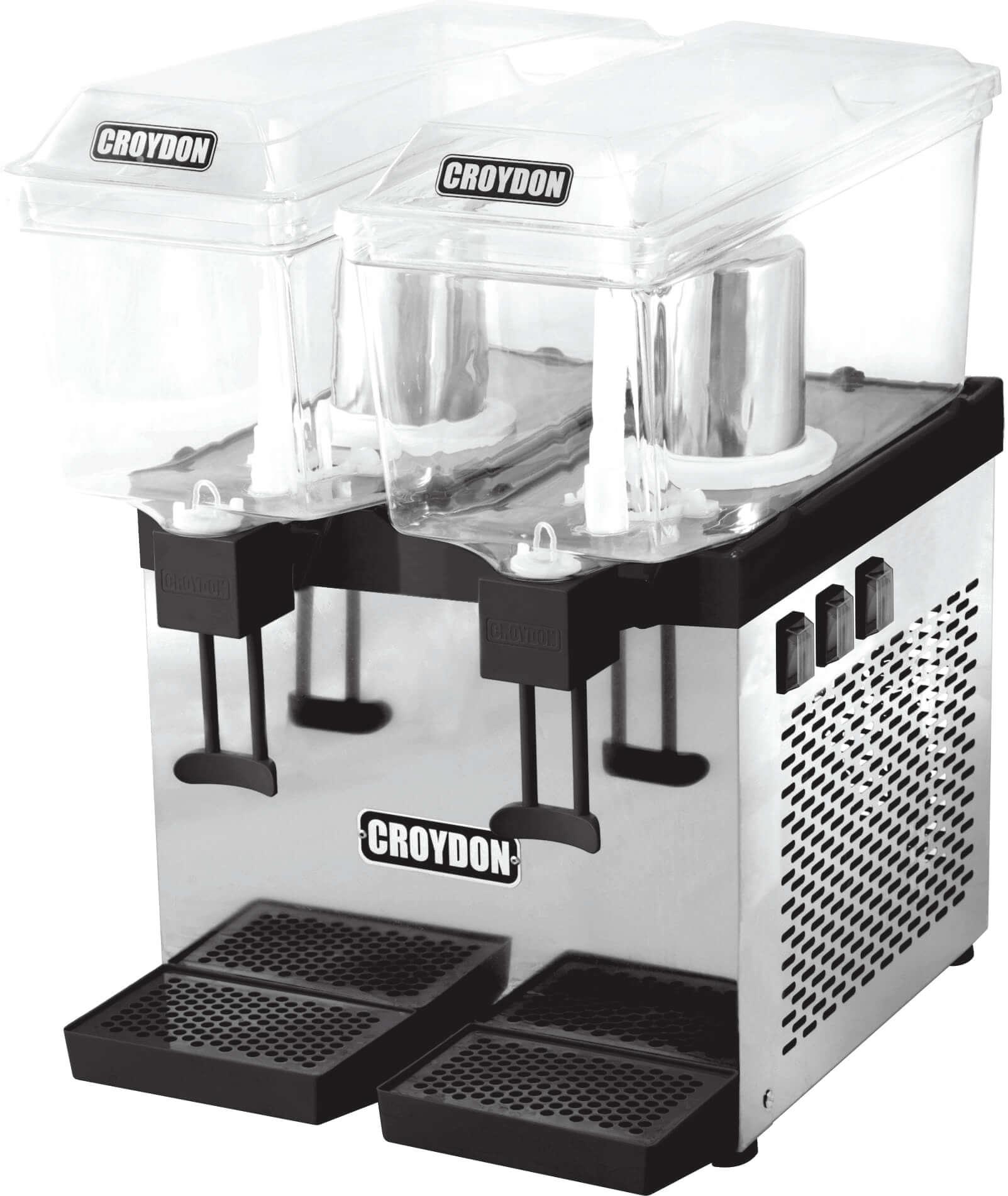 Refresqueira Slim Dupla Jato 2x15 litros RSDJ Croydon