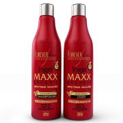 Forever liss kit escova progressiva ingel maxx premiun 2x1 l
