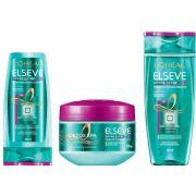 Kit Hydra-detox Elseve - Condicionador + Shampoo + Máscara