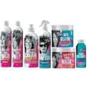 kit soul power 7 produtos cachos definição hidratação colors