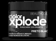 Mascara Colorante Xplode Preto Blackout Beautycolor 300 Gr