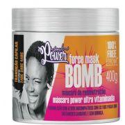 Mascara de reconstrução power ultra vitaminada force mask Bomb soul power 400 gr