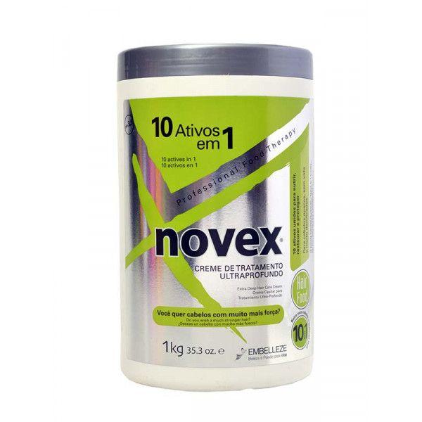 Creme Novex 10 ativos em 1 alinhamento capilar 1000 gr