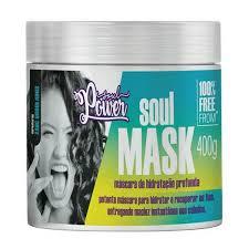 Mascara de hidratação profunda soul mask soul power curvatura 2ABC ondulados 400 gr