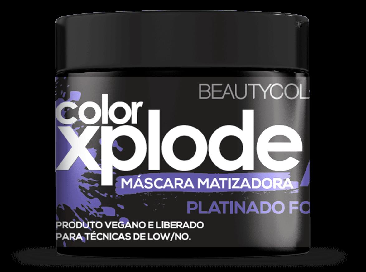 Mascara Matizadora Xplode Platinado Focus Beautycolor 300gr
