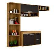 Cozinha Compacta 3 Peças Esmeralda - Sallêto Móveis