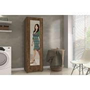 Sapateira Atena com Espelho e 4 Prateleiras Mavaular