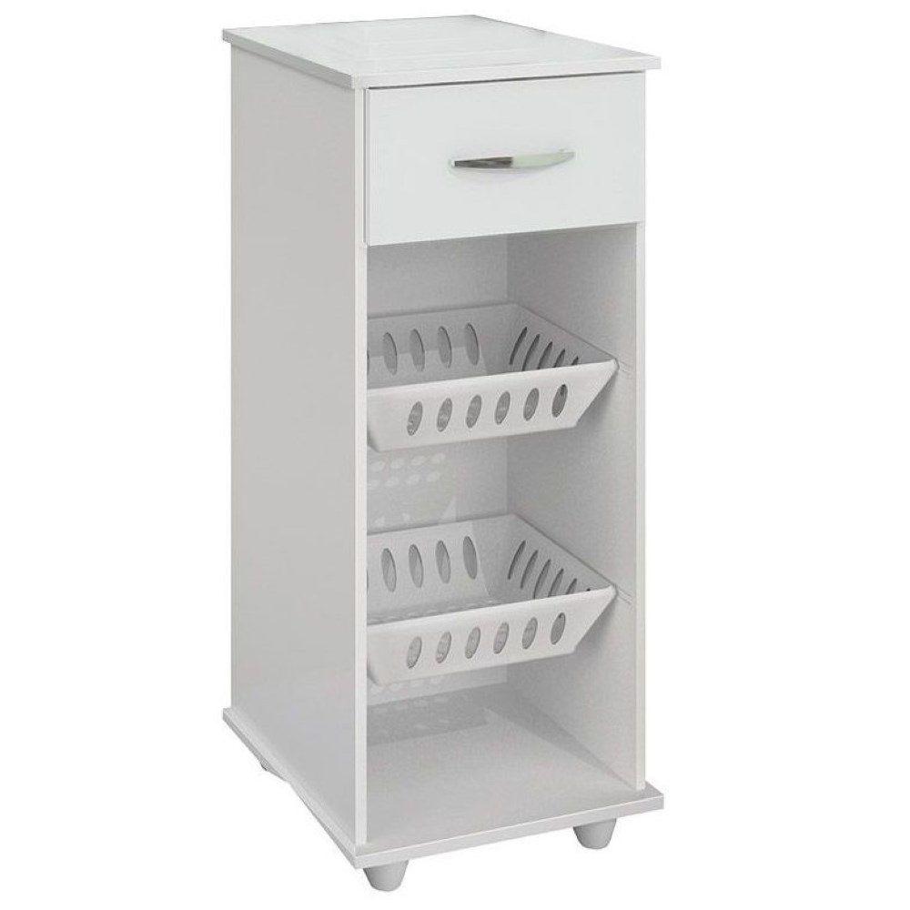 Armário Cozinha 301 Branco com Fruteira Benetil