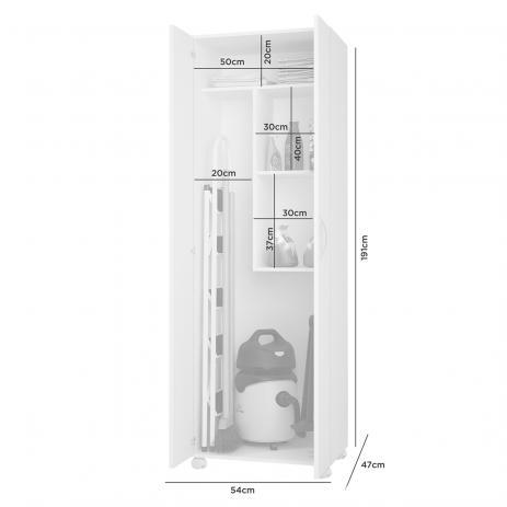 Armário Multiuso Minuano 2 Portas - Jcm Movelaria
