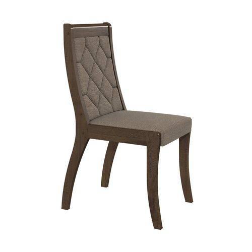 Conjunto 2 Cadeiras Merengue Linho Bege Lopas