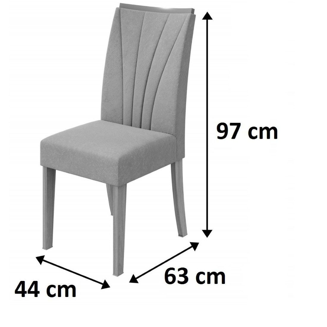 Conjunto 2 Cadeiras Apogeu Lopas