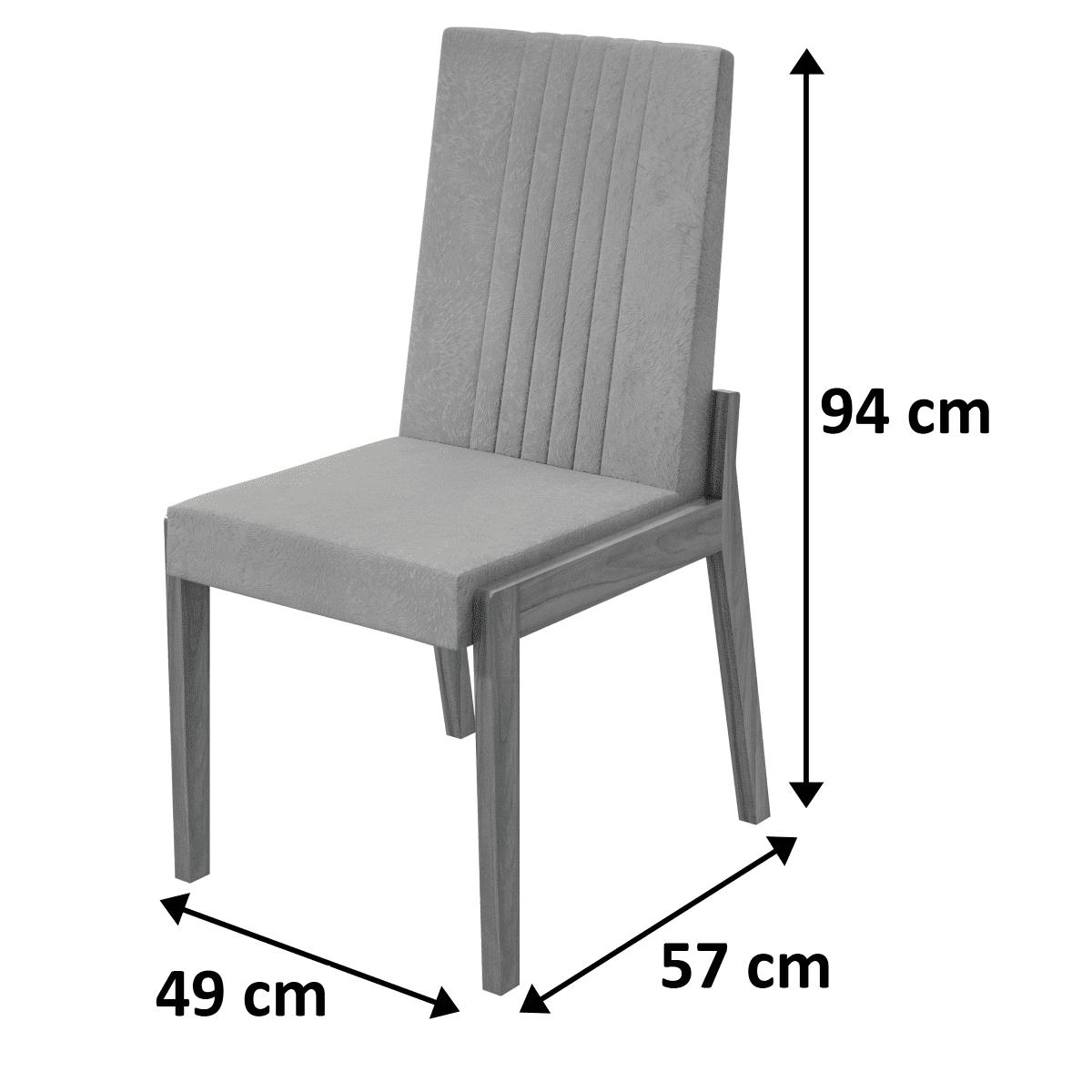 Conjunto 2 Cadeiras Áries Lopas
