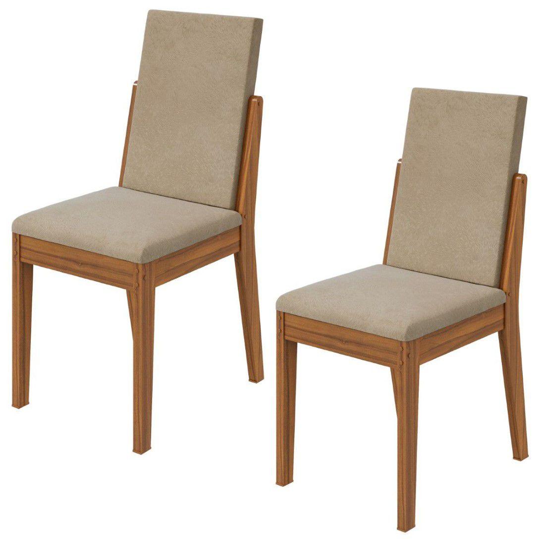 Conjunto 2 Cadeiras Lira Lopas