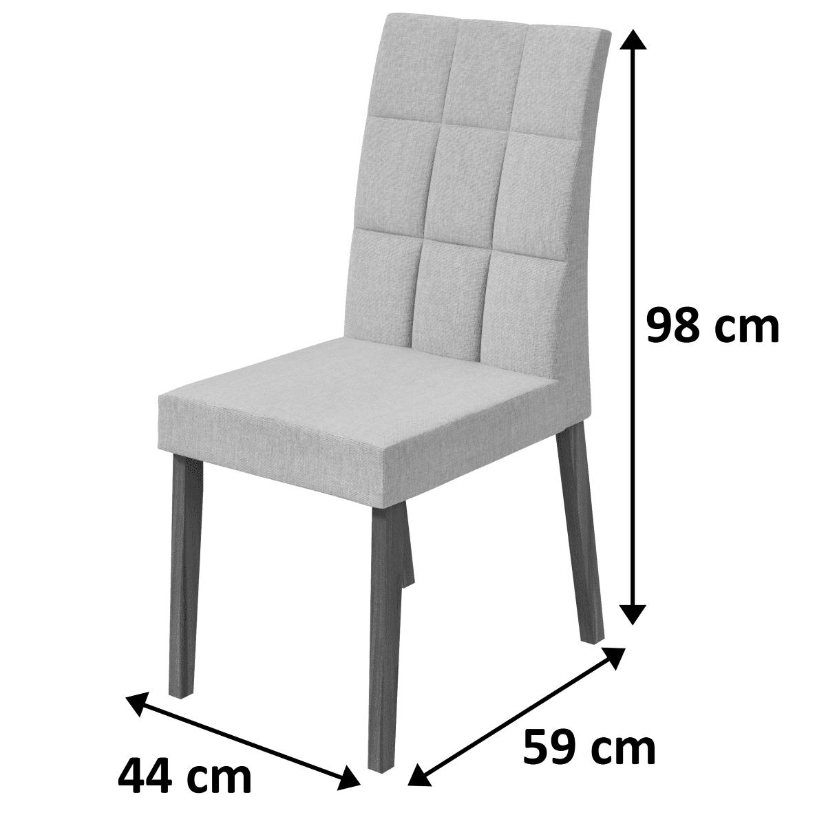 Conjunto 2 Cadeiras Odara Lopas