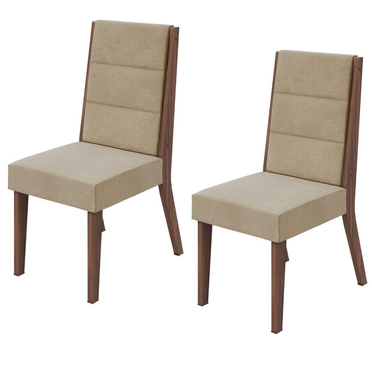 Conjunto 2 Cadeiras Saara Lopas