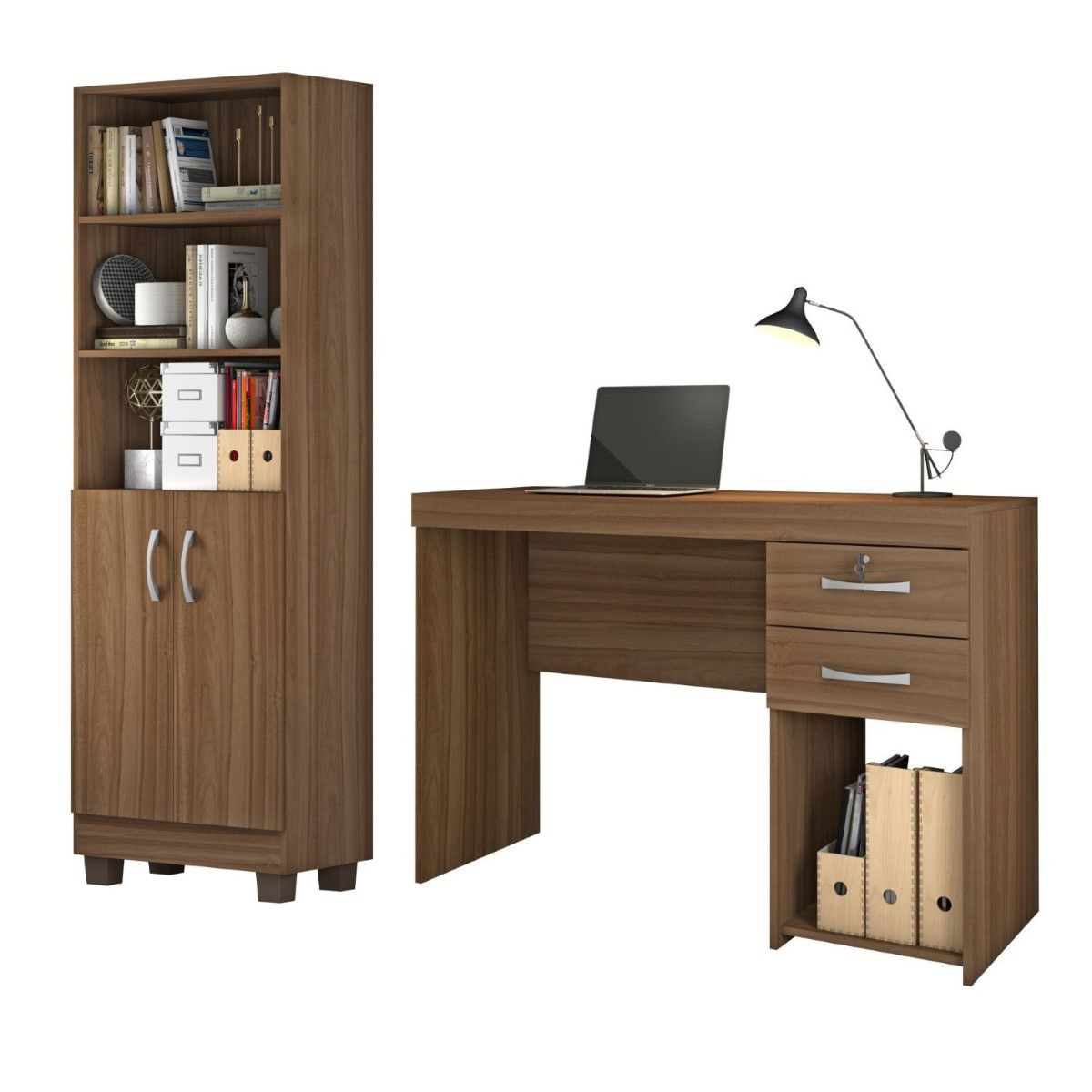 Conjunto Home Office 2 Peças Jcm Movelaria