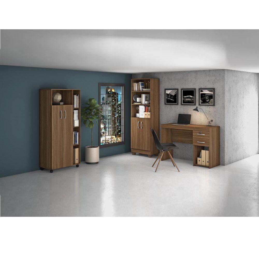 Conjunto Home Office 3 Peças Jcm Movelari