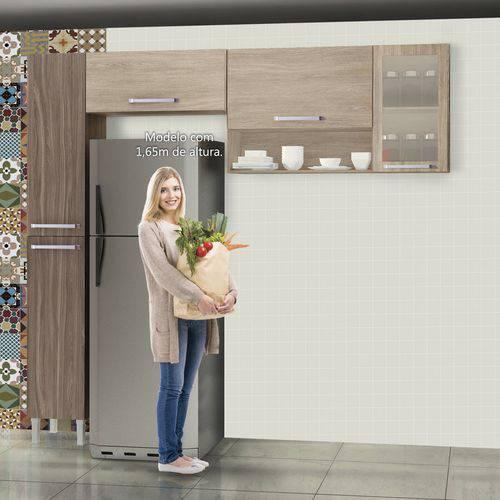 Cozinha Compacta 3 Peças Master - Sallêto Móveis