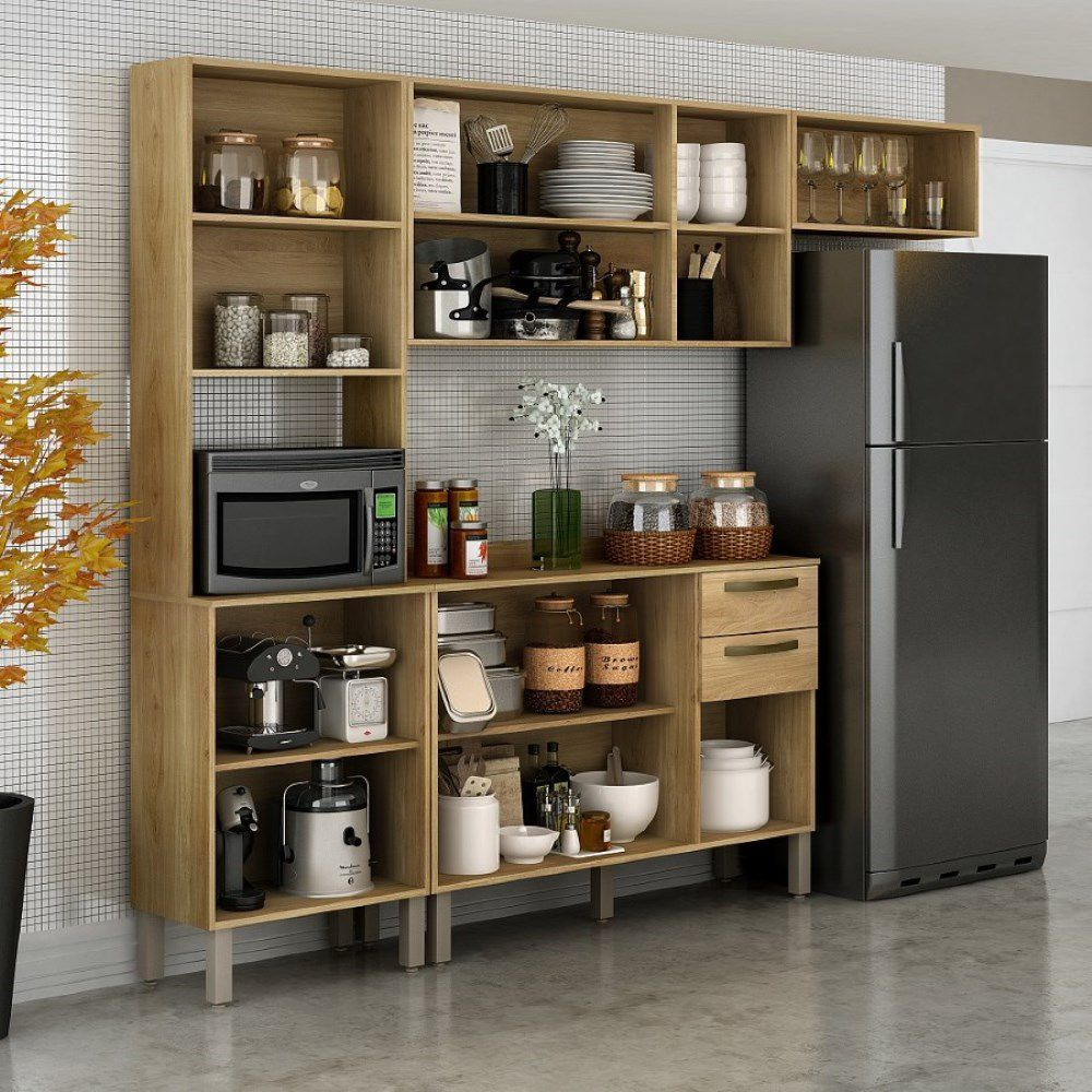 Cozinha Compacta 4 Peças Valência - Sallêto Móveis
