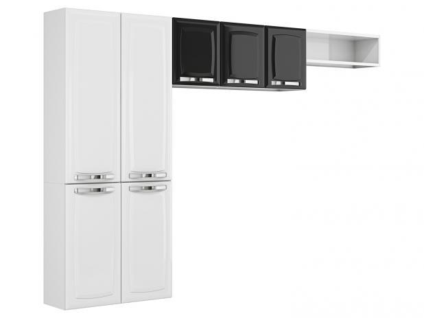 Cozinha Compacta 7 Portas Rose - Itatiaia Móveis