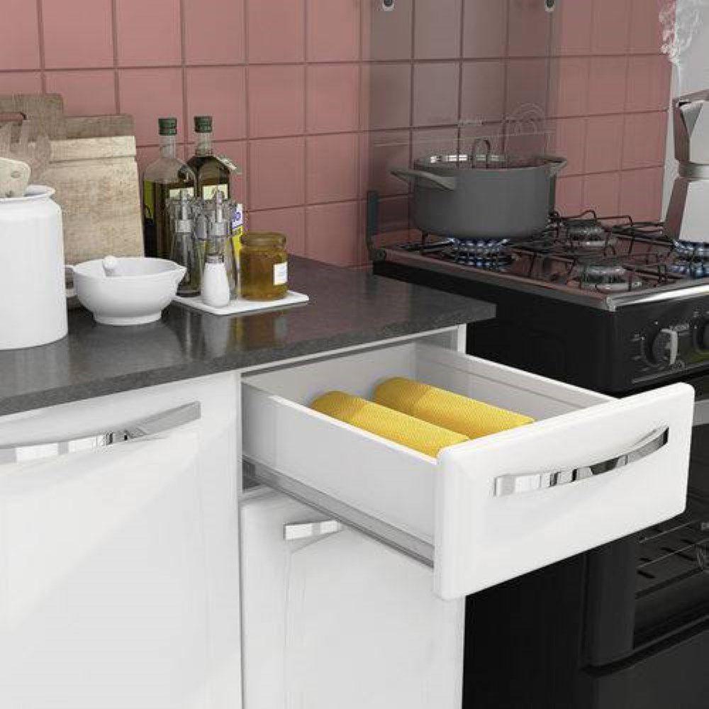 Cozinha De Aço Completa Amanda 4 peças 10 Portas Itatiaia