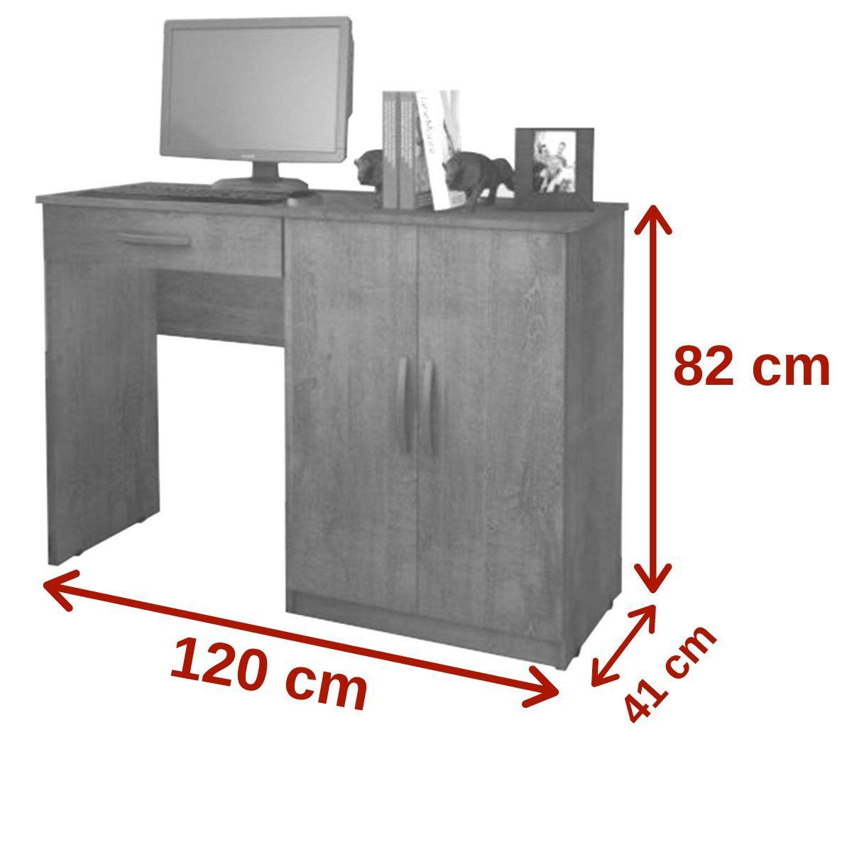 Escrivaninha Link 02 Portas Benetil Móveis