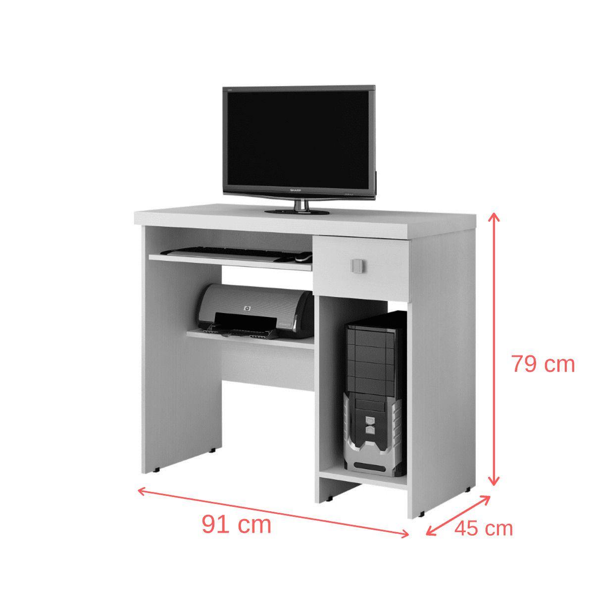 Escrivaninha/Mesa para computador System Valdemóveis