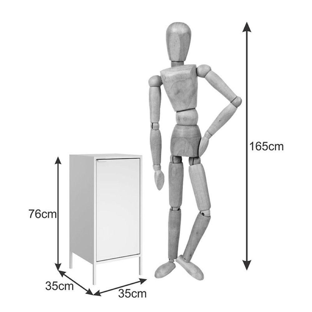 Gabinete Alto Multiuso Smart 01 Porta GB-35 Itatiaia