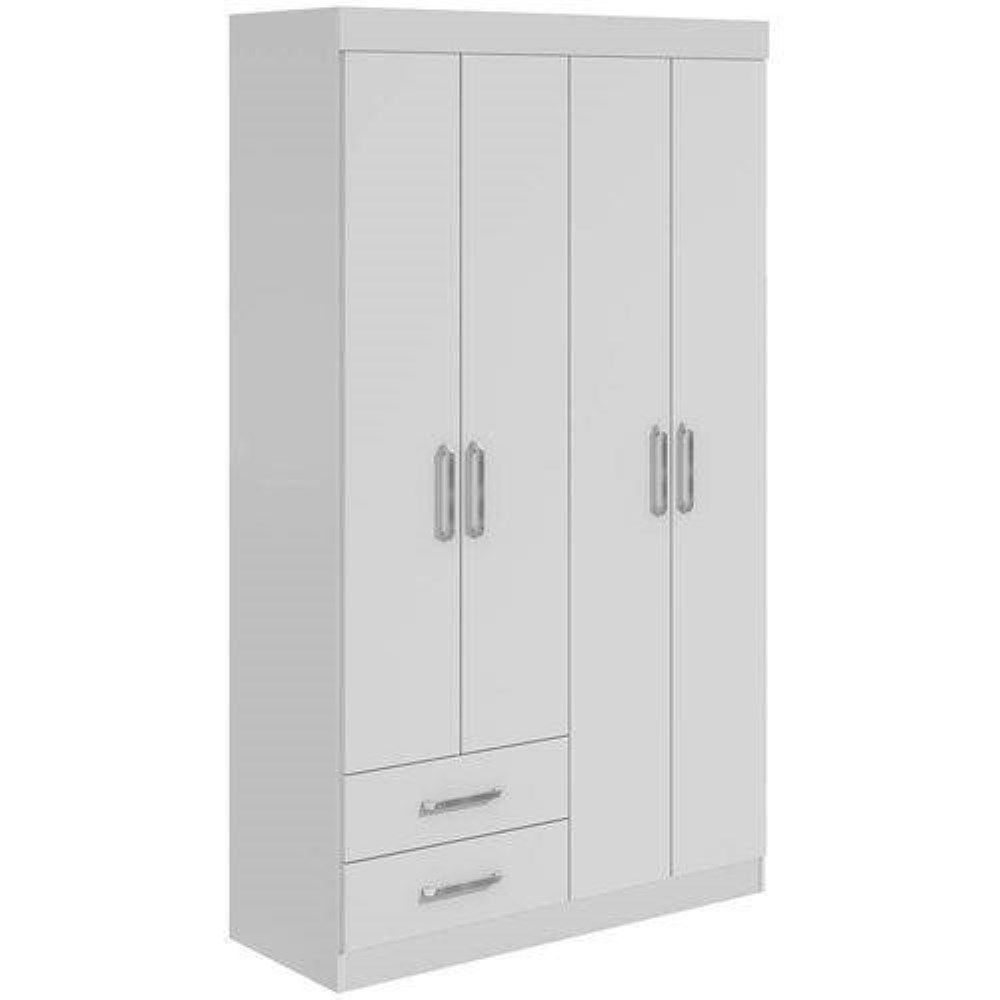 Guarda-Roupa Zeus Plus 04 Portas Lopas