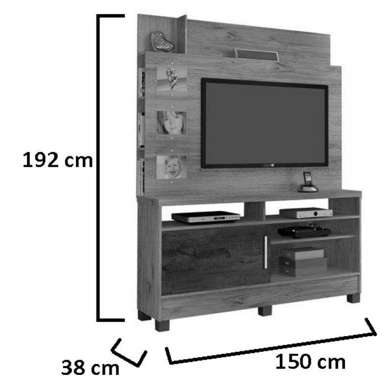 Home Aporé TV 50 polegadas JCM Movelaria
