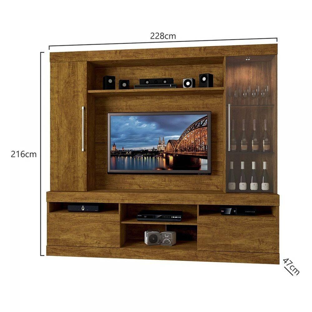 Home Imperador para TV até 55 polegadas com gavetas Mavaular