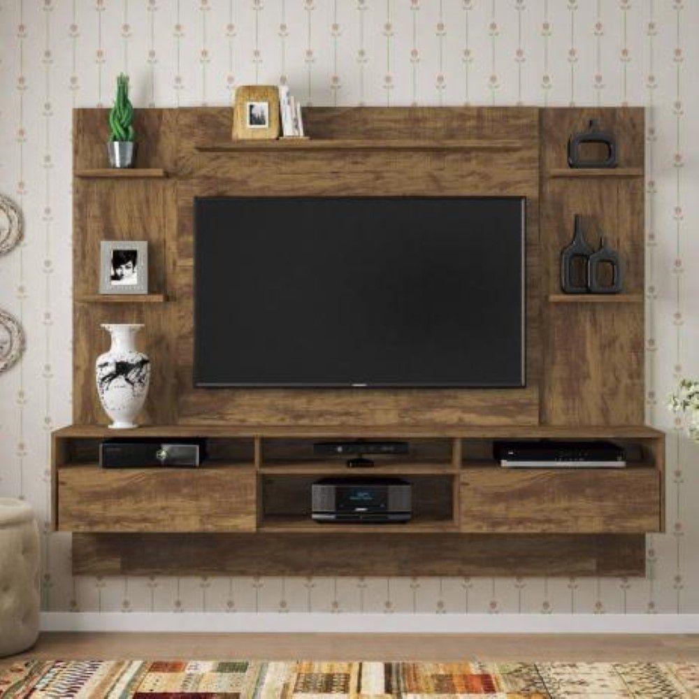 Home Suspenso Status p/ TV até 60 2 Gavetas - Valdemóveis