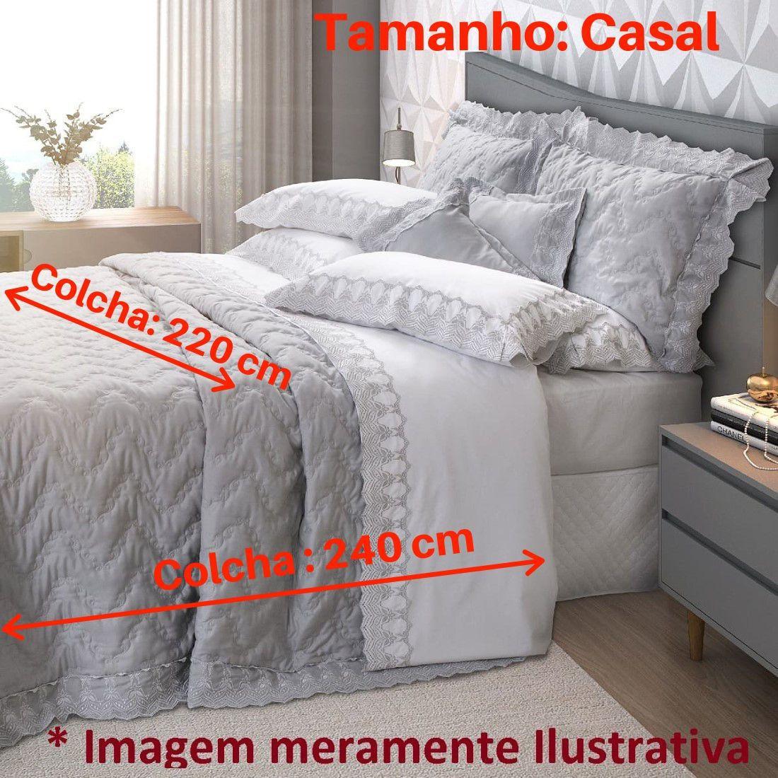 Jogo de Cama Casal 5 peças Mali Marken Fassi
