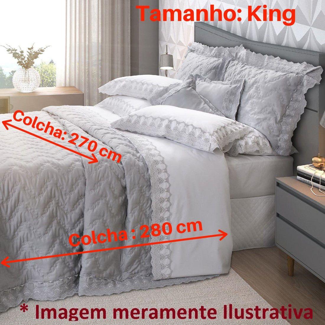 Jogo de Cama King 5 peças Mali Marken Fassi