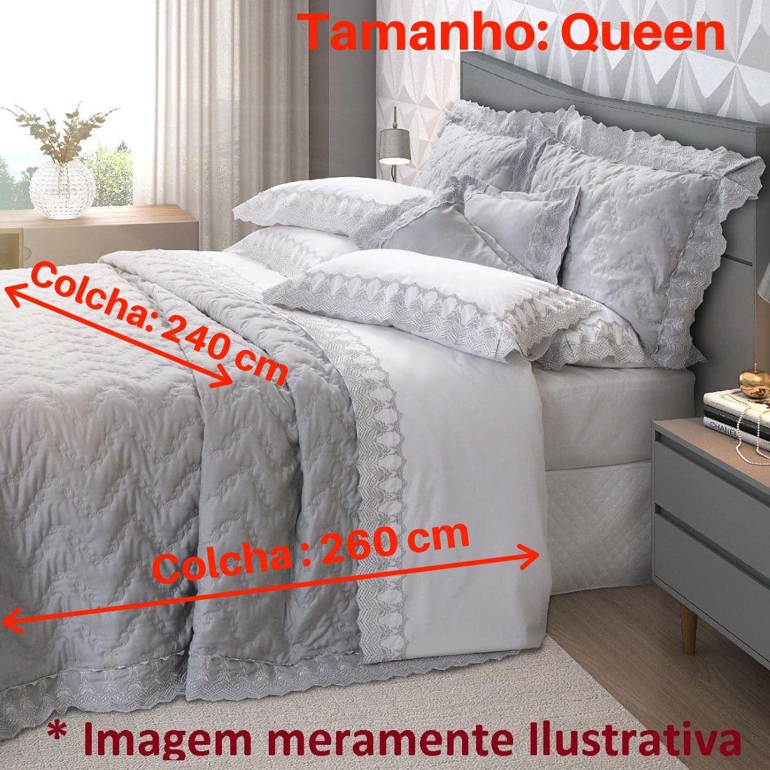 Jogo de Cama Queen 5 peças Mali Marken Fassi