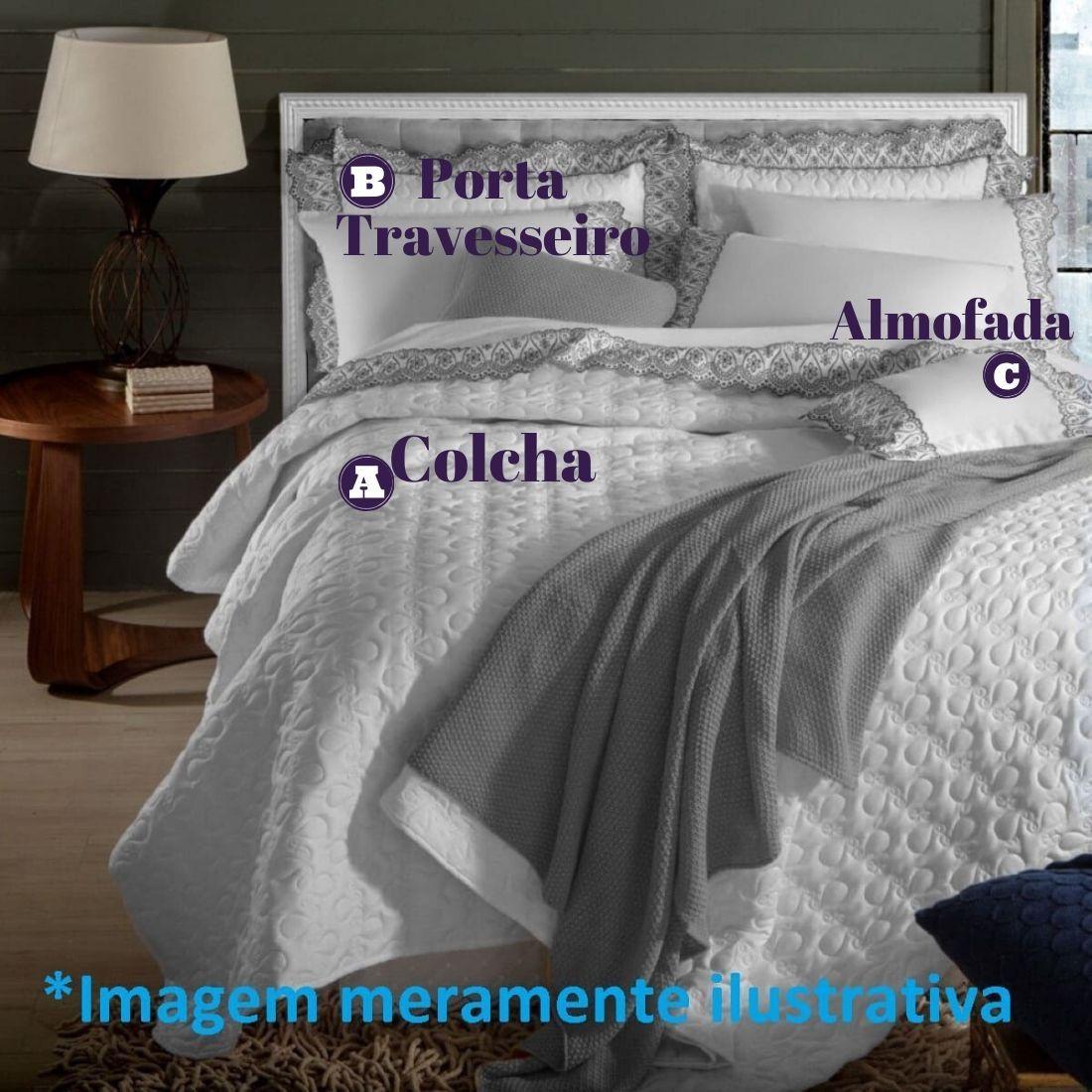Jogo de Cama Solteiro 3 peças Anne Marken Fassi