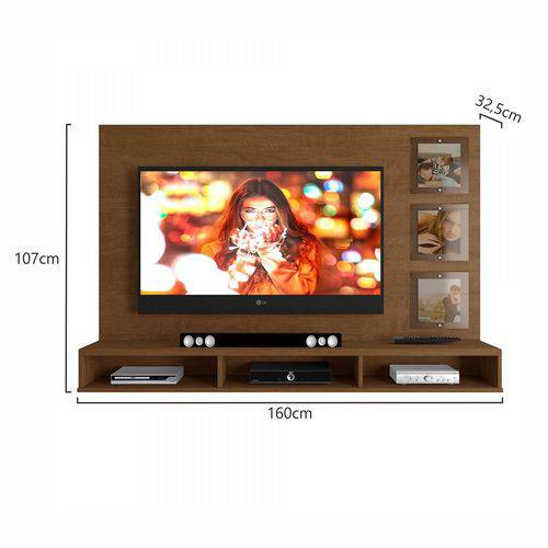 Painel Ipanema - Para TV até 55 polegadas, com Porta Retrato - Mavaular