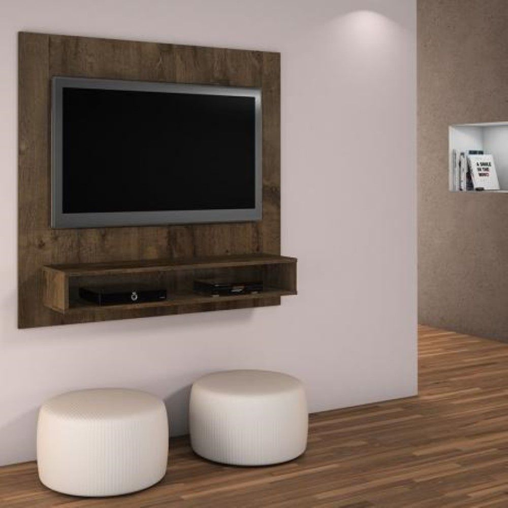 Painel TV até 47 polegadas Níquel com suporte TV Grátis JCM Movelaria