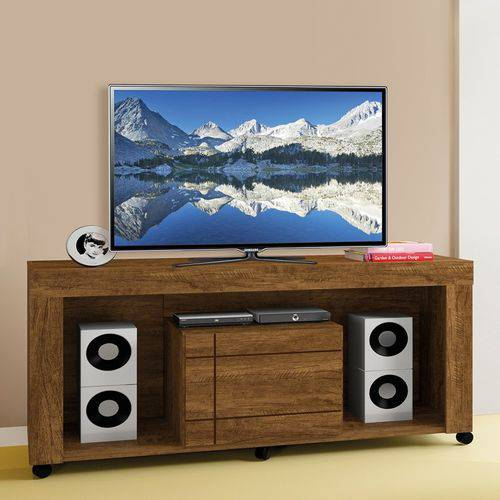 Rack Celenium - Para TV até 65 polegadas, 01 Porta - Mavaular