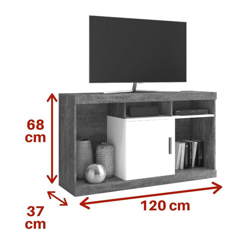 Rack Facility Tv 42 Polegadas Mavaular Moveis
