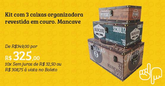 caixas organizadora mancave