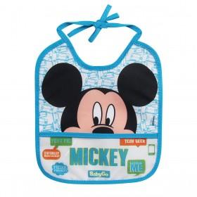 Babador Infantil Disney Mickey Mouse 3089 BabyGo Oficial