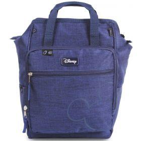 Baby Bag Mochila Maternidade Mickey Mouse Azul c/ Trocador Disney