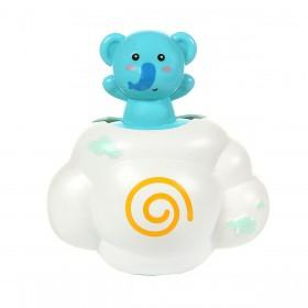 Brinquedo Amigos Do Banho Elefante Azul BabyGo Premium