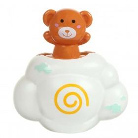 Brinquedo Amigos Do Banho Ursinho Marrom BabyGo Premium