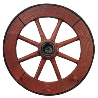 Cabideiro Roda de Carroca 31cm