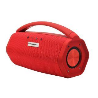 Caixa de Som Aqua Boom Red Bluetooth 16W RMS Toca até 10h