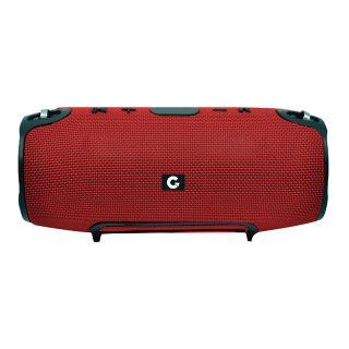 Caixa de som outdoor Bluetooth 10W RMS IPX7 Boom  Vermelha