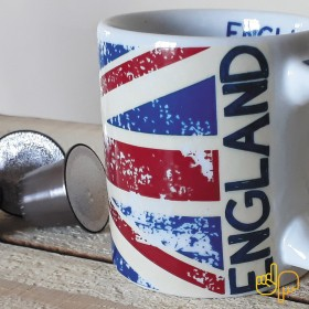 Caneca de Porcelana Criativa Pais Inglaterra 300ML